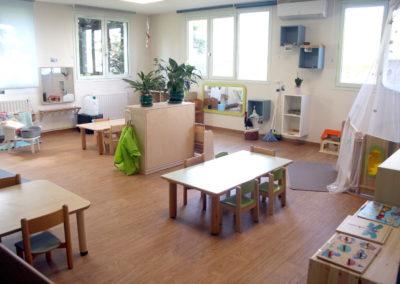La salle d'inspiration Montessori